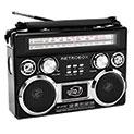 Dolphin SP-411BT Retrobox Portable AM/FM/SW Radio - 34.99