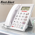 First Alert SFA3275 Big Button Emergency Phone with 1-Touch SOS Key - 21.99