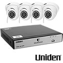 Uniden G7804D1 8 Channel DVR Security System - 4 Pack - 219.99