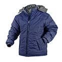 Navy Fleece Lined Hooded Jacket - 29.99