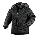 Black Fleece Lined Hooded Jacket - 29.99