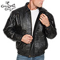 Lambskin Leather Bomber Jacket - 34.43