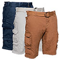Gray Earth Cargo Shorts - 3 Pack - 29.99