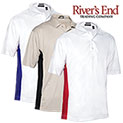 Rivers End Two-Toned Polo Shirts - 29.99