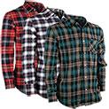 Activa Men's Flannel - 3 Pack - 24.99