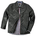 Men's Burks Bay Textured Driving Jacket - Black - 99.99