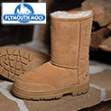 Plymouth Mocs Mens Boot Slippers - 39.99