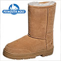 Plymouth Mocs Womens Boot Slippers - 24.99