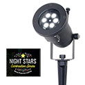 Night Stars Holiday Charms Projection Lights - 33.32
