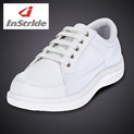 InStride Womens Courtside Shoes - White - 33.32