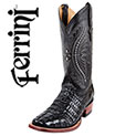 Ferrini Tail-Cut Caiman Boots - 229.99