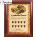 10 Years of Indian Head Pennies - Wood Frame - 79.99