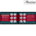 Complete Collection of America's New Nickel Designs in Soft Wallet (BU Condition) - 24.99