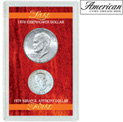 Last Eisenhower Dollar & First Susan B. Anthony Dollar - 22.99