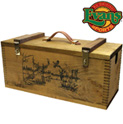Wooden Gun Cleaning Case - 59.99