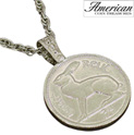 Lucky Rabbit Coin Pendant - 24.99