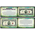 American Coin Treasures Red Seal Note Currency Collection - 69.99