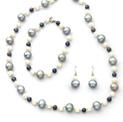 White/Black/Grey Pearl Bracelet - 99.99