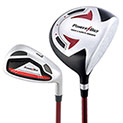 12+ year old Powerbilt Jr. Golf Set - Red - 129.99