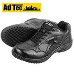 AdTec Black Lace Slip-Resistant Shoes