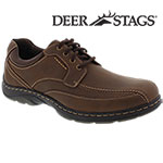 Deer Stags Men's Brown Wilton Lace-Up Shoes