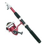 Telescoping Lightweight Rod & Reel Set