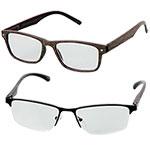 Icon Men's 1.5X Reading Glasses - 2 Pack