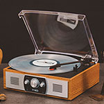 Altec Lansing ALT-400 Bluetooth Turntable with FM Radio