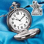 Ben Franklin Half Dollar Pocket Watch