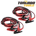 Tornado Tools 2-Gauge Jumper Cables - 2 Pack