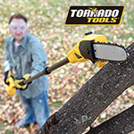 Tornado Tools ET1103 18V Cordless Pole Saw