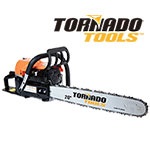 "Tornado Tools 20"" Two-Stroke Gas Chain Saw"