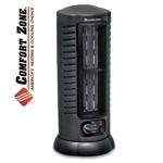 Comfort Zone 1500W Oscillating Tower Heater/Fan