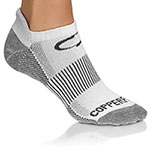 Copper Fit White Sports Socks