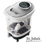 St. John's Medical Roller Foot Spa Massage with 6 Gallon Tank
