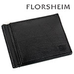 Florsheim Black Money Clip Wallet