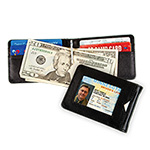 Cowhide Leather Carlos Chavez RFID Clip Wallet