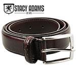 Stacy Adams Brown Wingtip Belt
