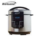 Brentwood 6 Quart Pressure Cooker