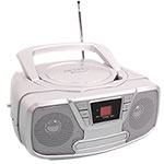 Riptunes Impecca Portable CD Boombox with Bluetooth