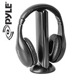Pyle PHPW5 5-in-1 Wireless Headphones with FM Radio
