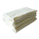 Softie Brand Cream Plush Blanket
