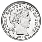 American Coin Treasures Barber Dime Collection