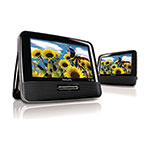 "Philips PD7012/37 Portable 7"" Dual Screen DVD Player"