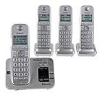Panasonic KX-TG684SK 4-Handset Cordless Phones