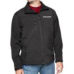 Mossi Men's Black Soft Shell Jacket