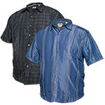Bruno Men's Big Short Sleeve Shirts - 2 Pack