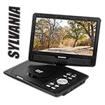 Sylvania SDVD1030R 10 Inch Portable DVD Player