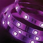 Color Changing LED Light Strip - 16' Long