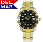 Del Mar® Men's Anchor Dial Watch